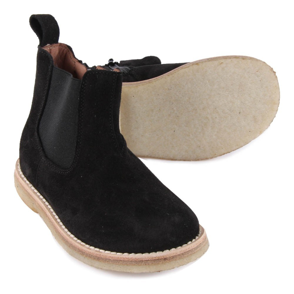 suede chelsea boots with zip black p 232 p 232 shoes children