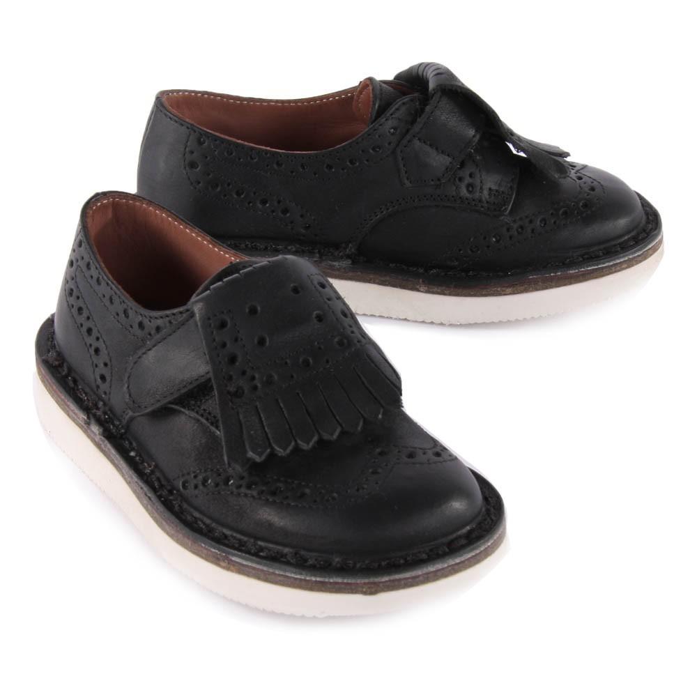 derbies su de franges amovibles scratch noir p p chaussure. Black Bedroom Furniture Sets. Home Design Ideas