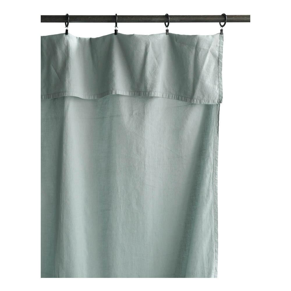 rideau lina 140x280 cm bleu gris la cerise sur le g teau design. Black Bedroom Furniture Sets. Home Design Ideas