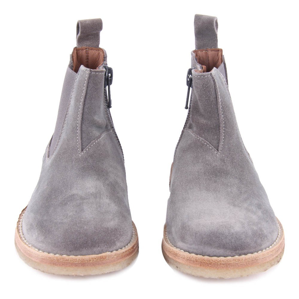 suede chelsea boots with zip grey p 232 p 232 shoes children
