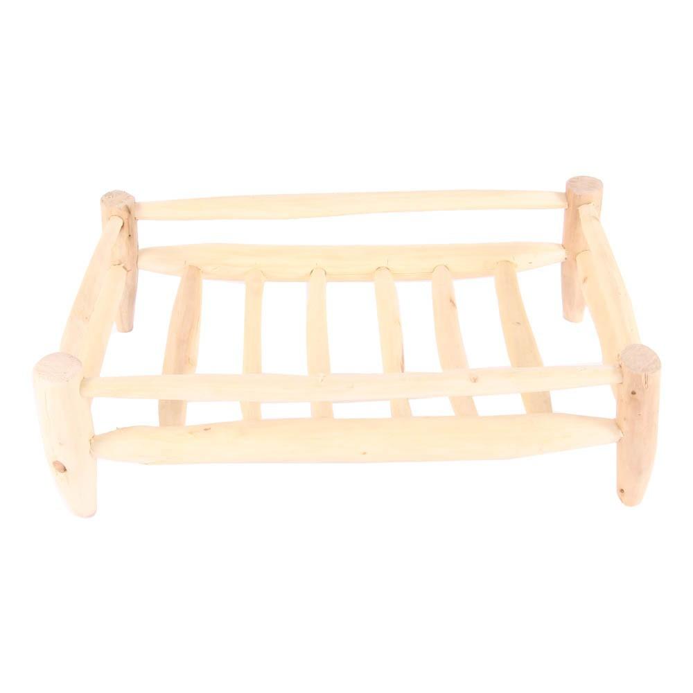 panier gouttoir en bois rectangulaire 40x25 cm naturel. Black Bedroom Furniture Sets. Home Design Ideas