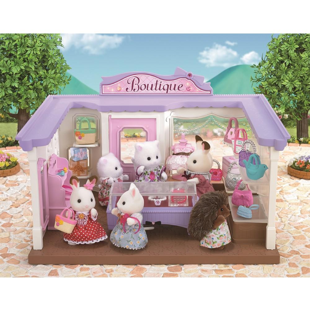 Boutique d'accessoires de mode multicolore sylvanian jouet et