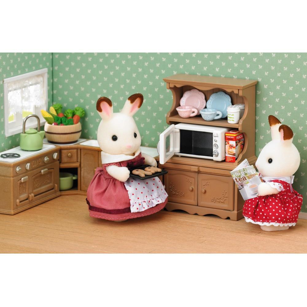 Insieme cucina e forno multicolore sylvanian giocattoli e hobby - Forno e microonde insieme ...