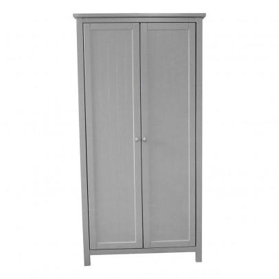 armoire parisienne gris fonc rose bonbon laurette design. Black Bedroom Furniture Sets. Home Design Ideas