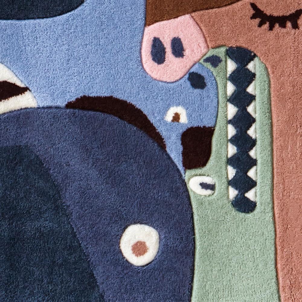 teppich puzzle tiere bunt art for kids design kind. Black Bedroom Furniture Sets. Home Design Ideas