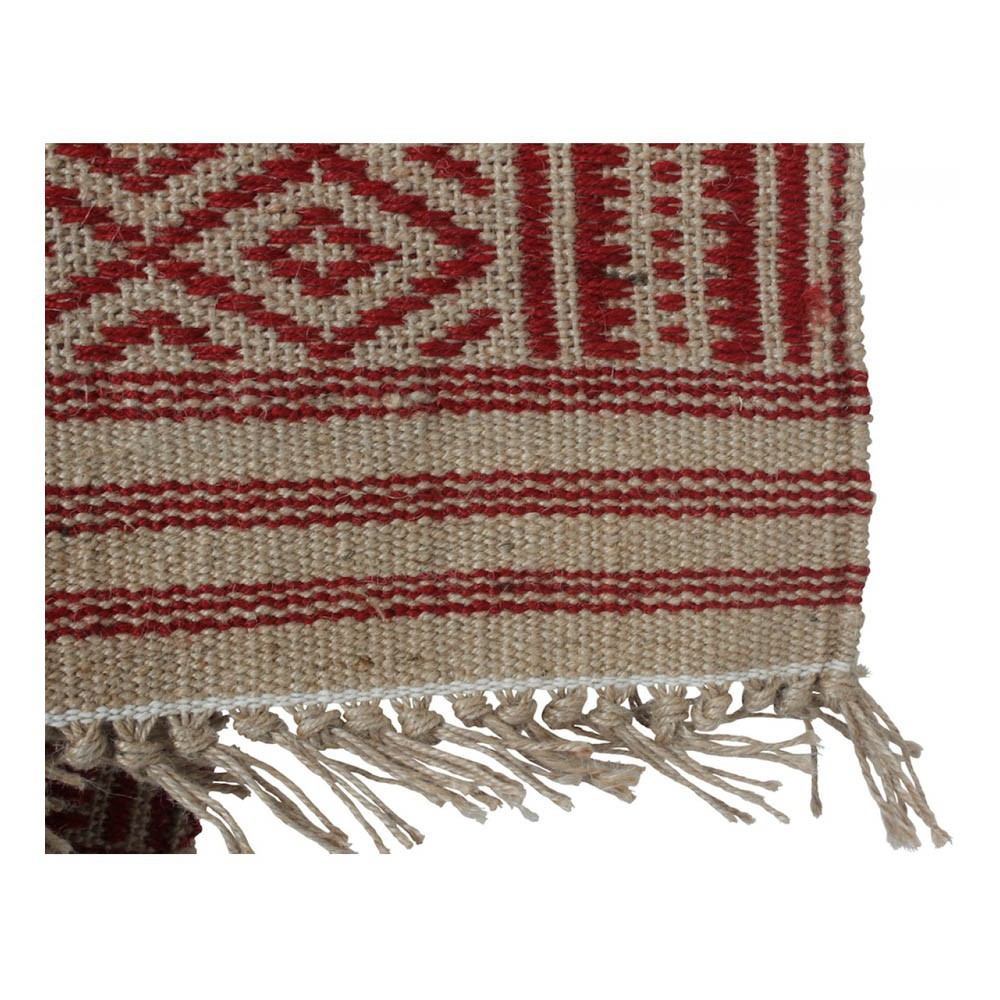 Teppich Tipi aus Jute Rot Smallable Home Design Teenager