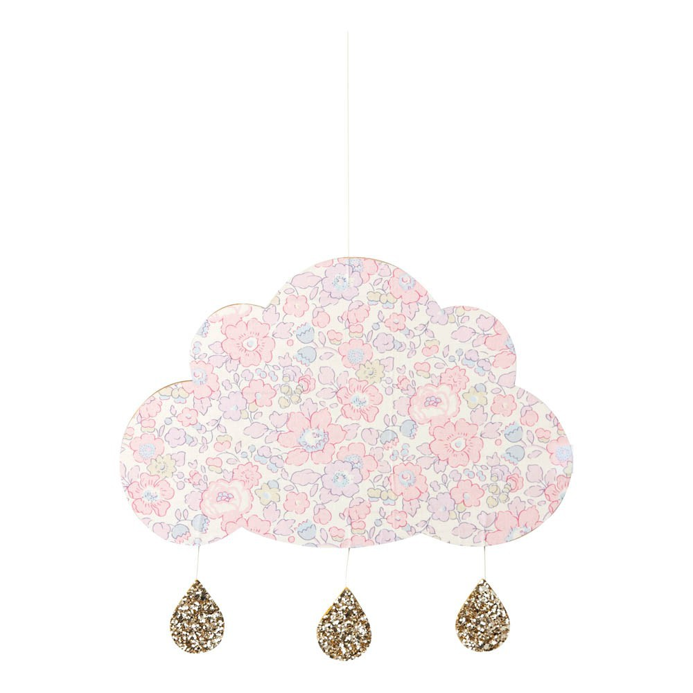 d coration murale nuage betsy rose rose little cloud design. Black Bedroom Furniture Sets. Home Design Ideas