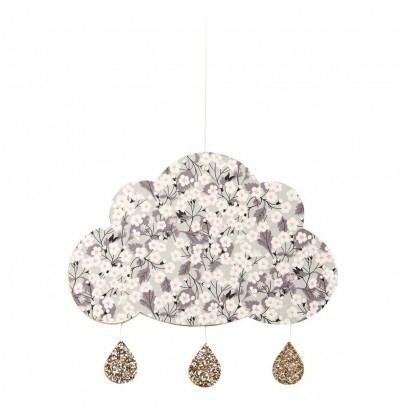 coussin musical i love paris blanc little cloud jouet et loisir. Black Bedroom Furniture Sets. Home Design Ideas