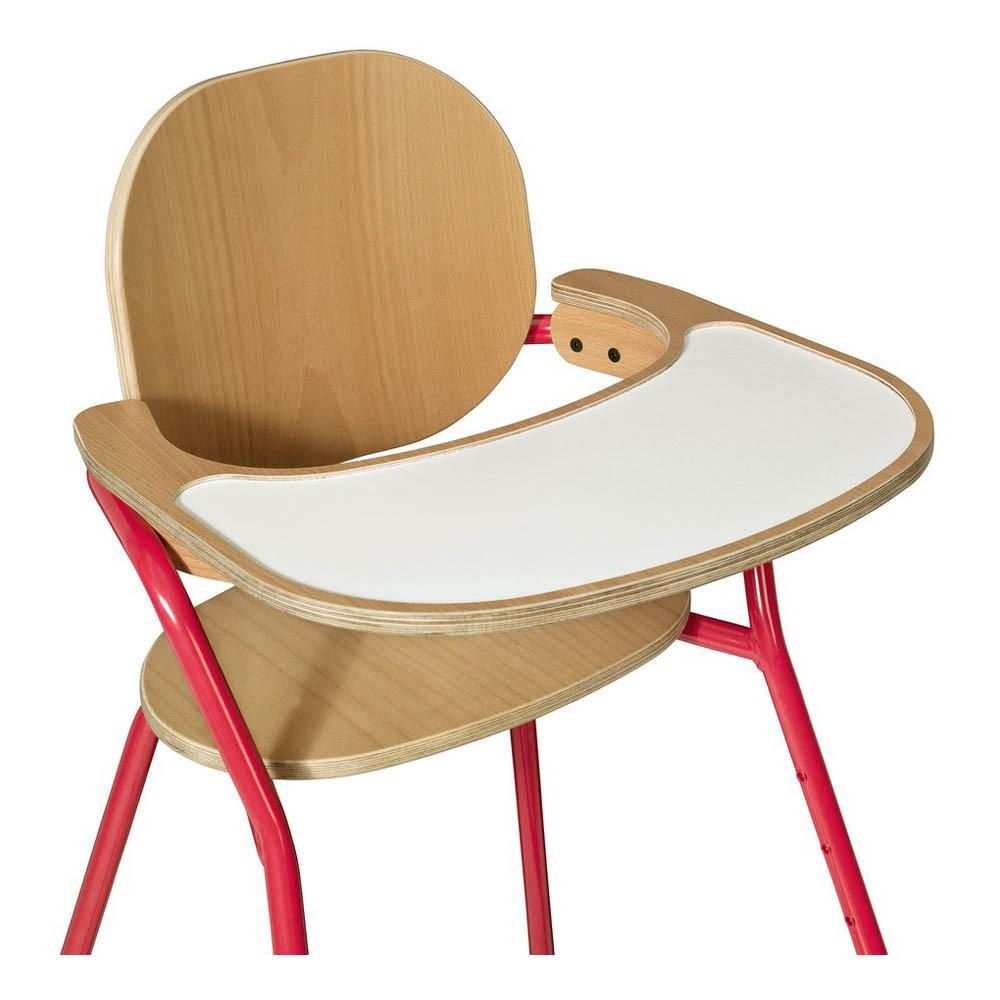 chaise haute volutive tibu avec tablette rose charlie crane. Black Bedroom Furniture Sets. Home Design Ideas