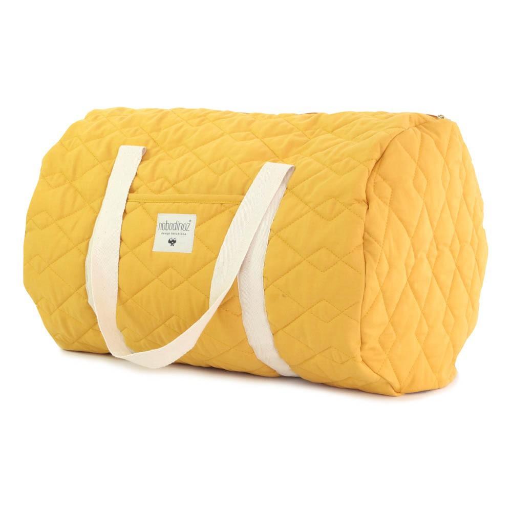 sac week end los angeles jaune moutarde nobodinoz design. Black Bedroom Furniture Sets. Home Design Ideas