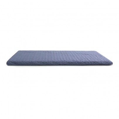matelas de sol en canvas de coton 100x100 cm noir deuz. Black Bedroom Furniture Sets. Home Design Ideas