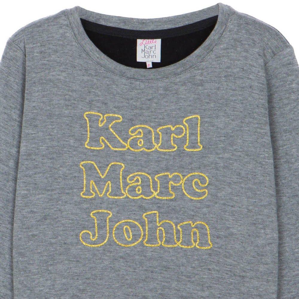 karl marc john siry sweatshirt grey little karl marc john fashion. Black Bedroom Furniture Sets. Home Design Ideas