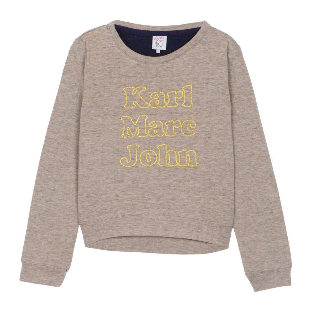 karl marc john siry sweatshirt beige little karl marc john. Black Bedroom Furniture Sets. Home Design Ideas