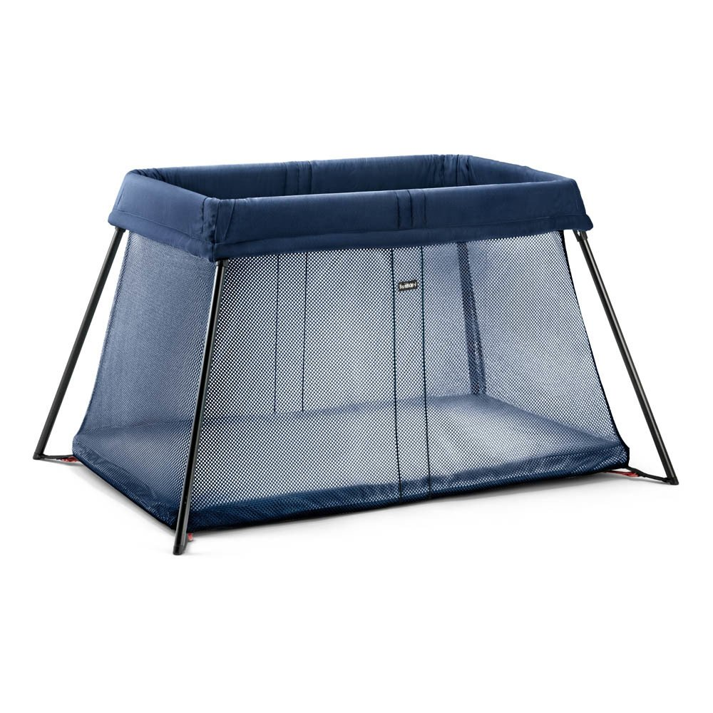 lit parapluie light bleu marine babybj rn design b b. Black Bedroom Furniture Sets. Home Design Ideas
