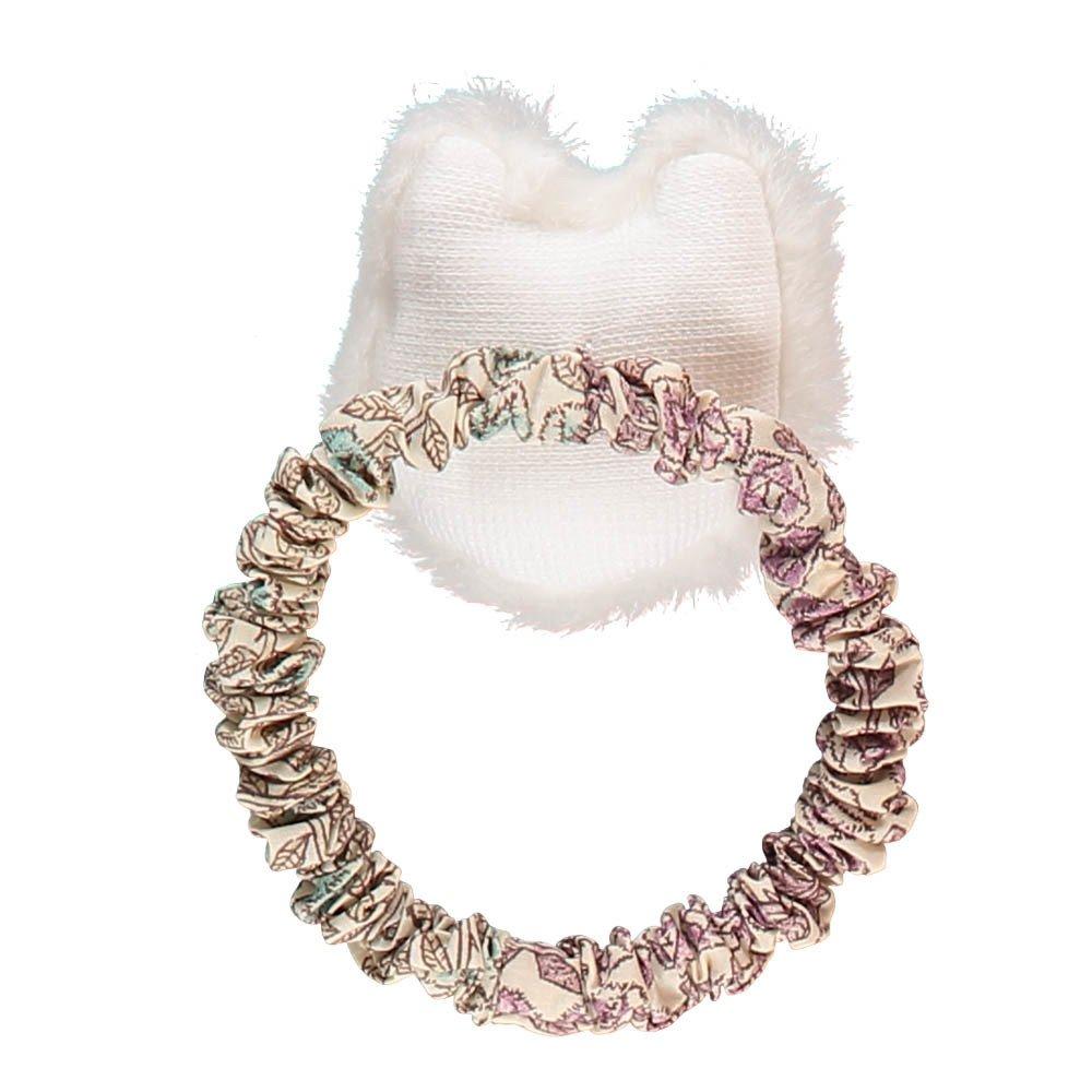 elastique pour cheveux chat blanc blanc keora keora mode. Black Bedroom Furniture Sets. Home Design Ideas