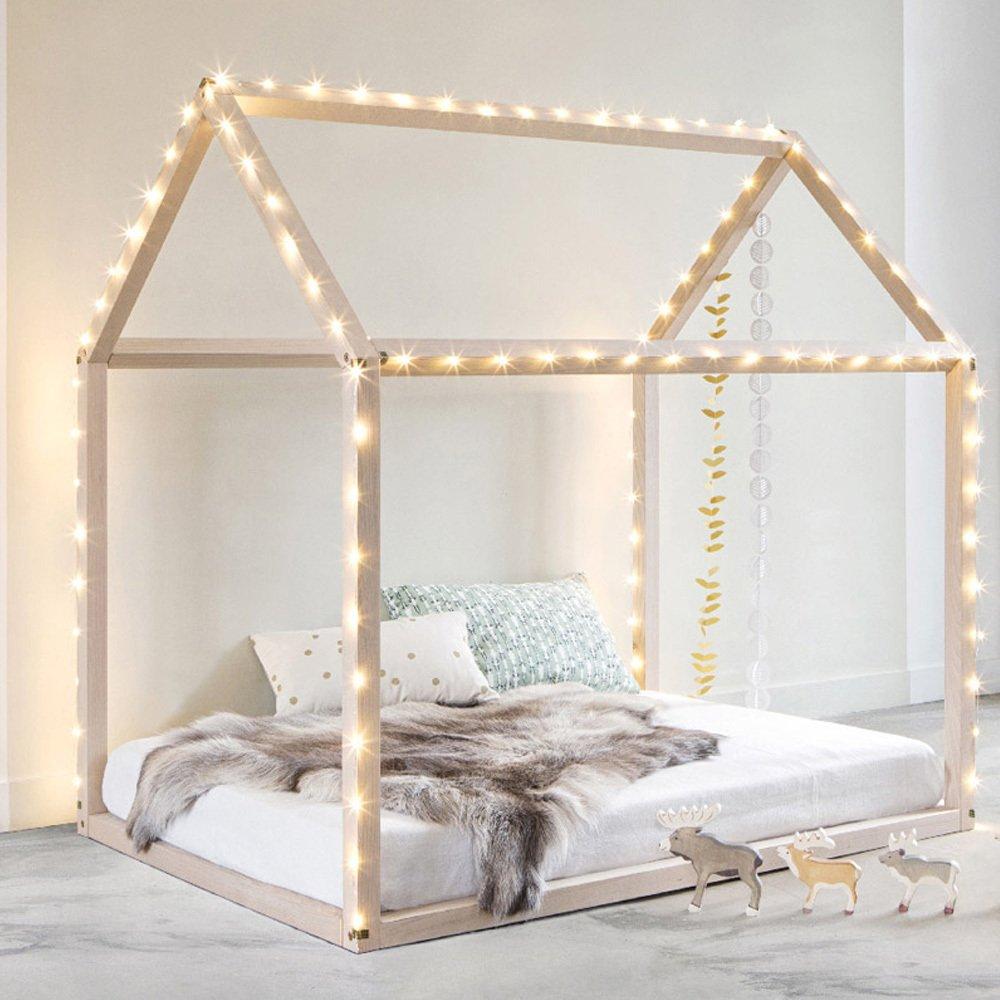 hausbett aus buche natur bonnesoeurs design kind. Black Bedroom Furniture Sets. Home Design Ideas