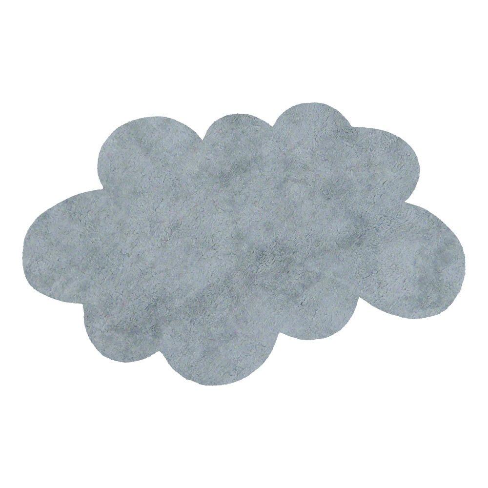Tappeto nuvola grigio chiaro pilepoil design bambino - Tappeto grigio chiaro ...