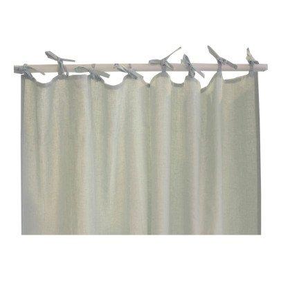 rideau fin 110x290 cm gris tourterelle numero 74 design enfant. Black Bedroom Furniture Sets. Home Design Ideas