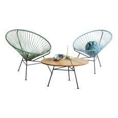 fauteuil acapulco noir sentou design adolescent. Black Bedroom Furniture Sets. Home Design Ideas
