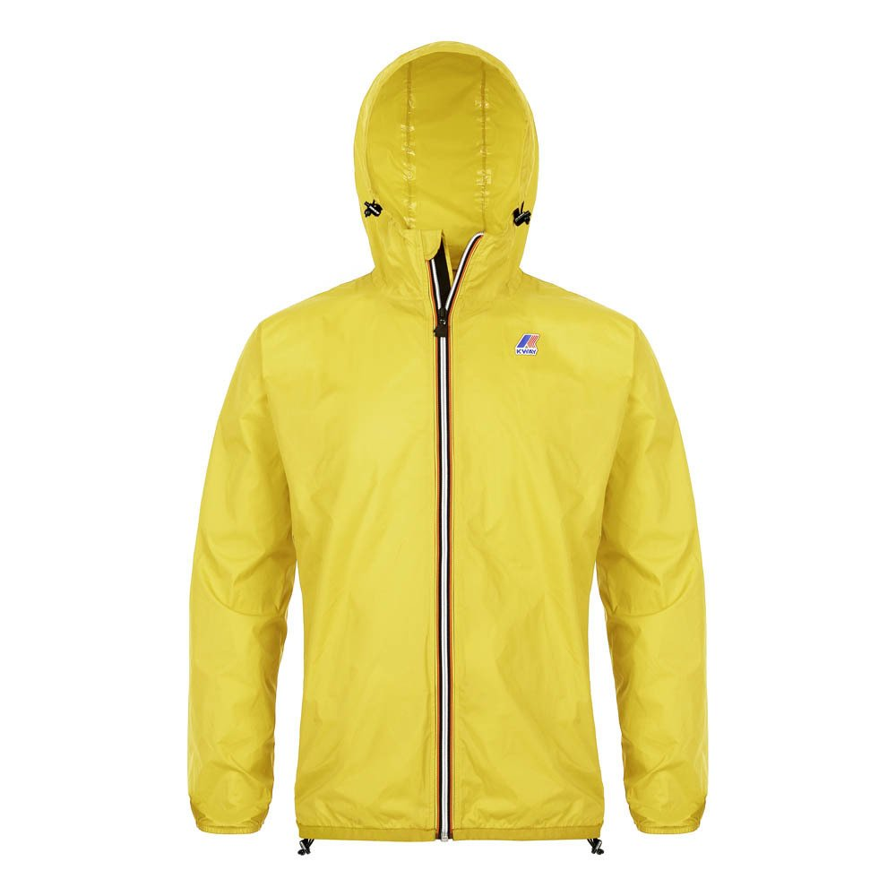regenjacke k way le vrai claude 3 0 senffarben k way mode