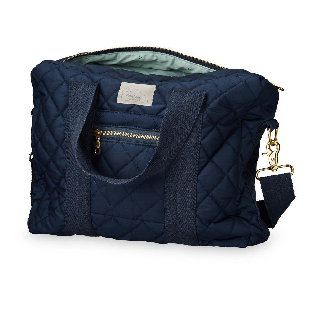 sac langer bleu marine cam cam design b b. Black Bedroom Furniture Sets. Home Design Ideas