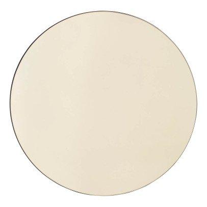 miroir extra plat biseaut forme al atoire ronde 47x50 cm. Black Bedroom Furniture Sets. Home Design Ideas