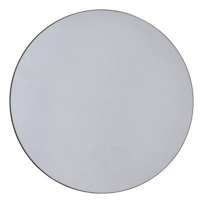 Newlupex specchio rotondo con cornice plastica bianca - Specchio rotondo ...