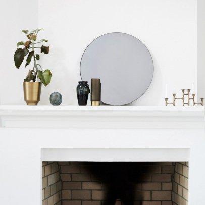 miroir pomme 30x20 cm dor honor design adulte. Black Bedroom Furniture Sets. Home Design Ideas