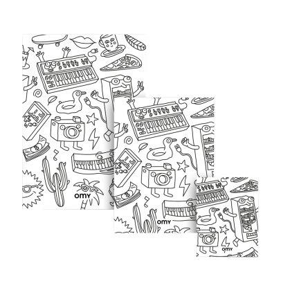 3d malbuch amsterdam mon petit art spiele und freizeit teenager. Black Bedroom Furniture Sets. Home Design Ideas