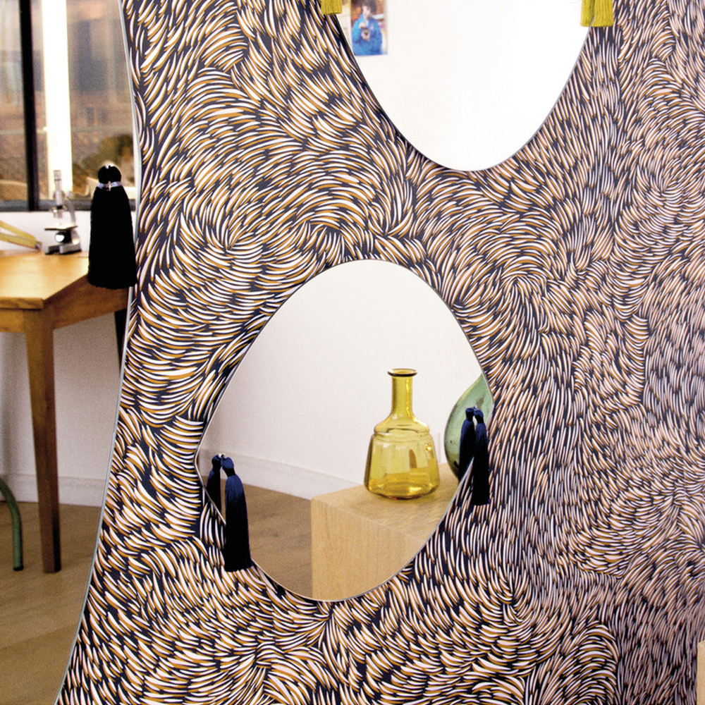 papier peint volutes 0 7x10 m noir petite friture design adulte. Black Bedroom Furniture Sets. Home Design Ideas