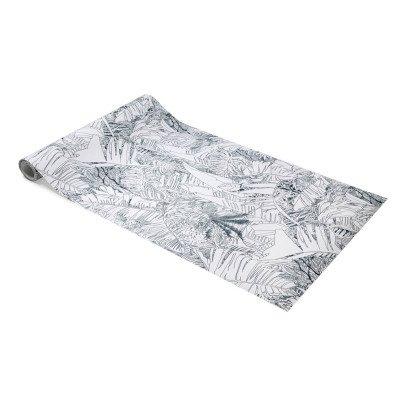 papier peint jungle 0 7x10 m bleu petite friture design adulte. Black Bedroom Furniture Sets. Home Design Ideas