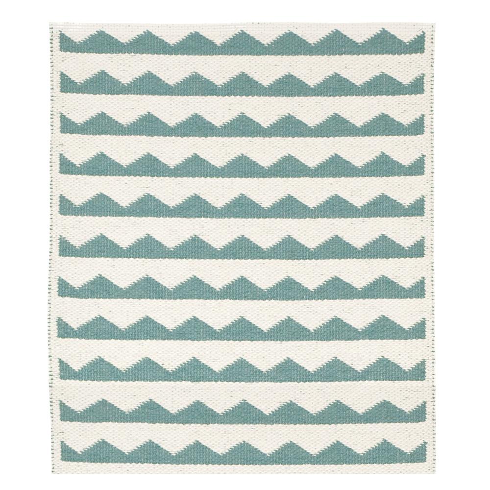 Teppich aus Plastik Gittan Grün Brita Sweden Design Teenager