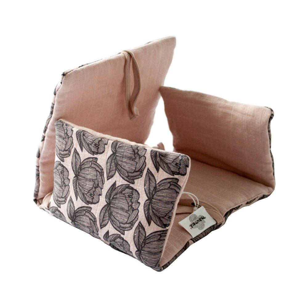 Assise pour chaise haute pivoines vieux rose moumout design for Assise pour chaise haute