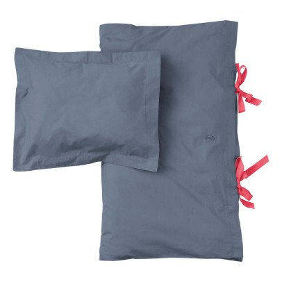 parure de lit bleu p trole numero 74 design adolescent. Black Bedroom Furniture Sets. Home Design Ideas
