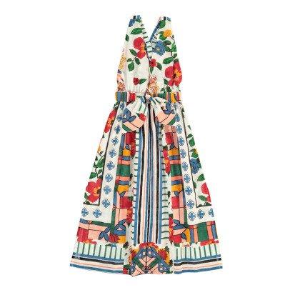 jupe longue d tails fleurs lola blanc cass le petit lucas du. Black Bedroom Furniture Sets. Home Design Ideas