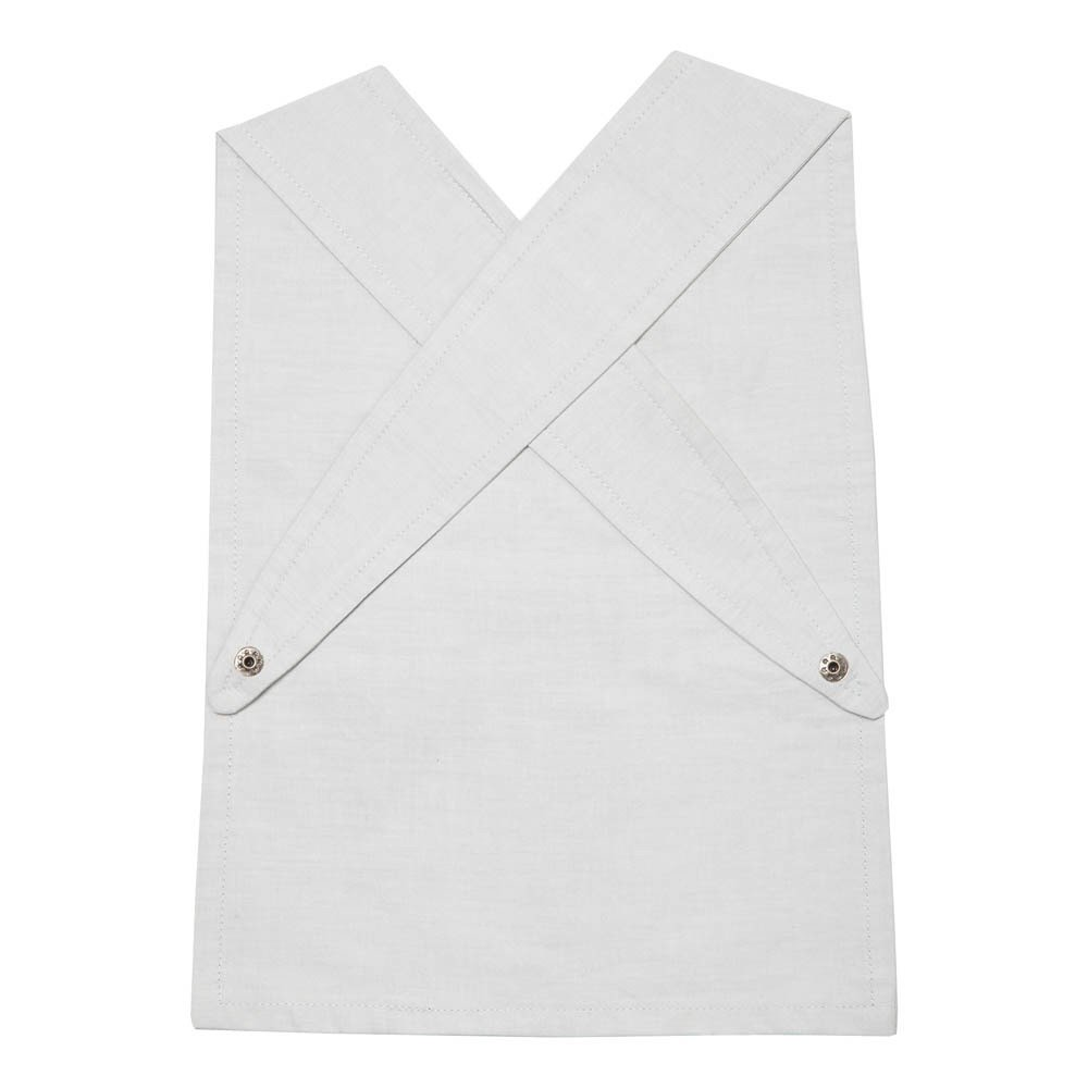 White apron london - Organic Cotton Pirate Japanese Apron Bib Product
