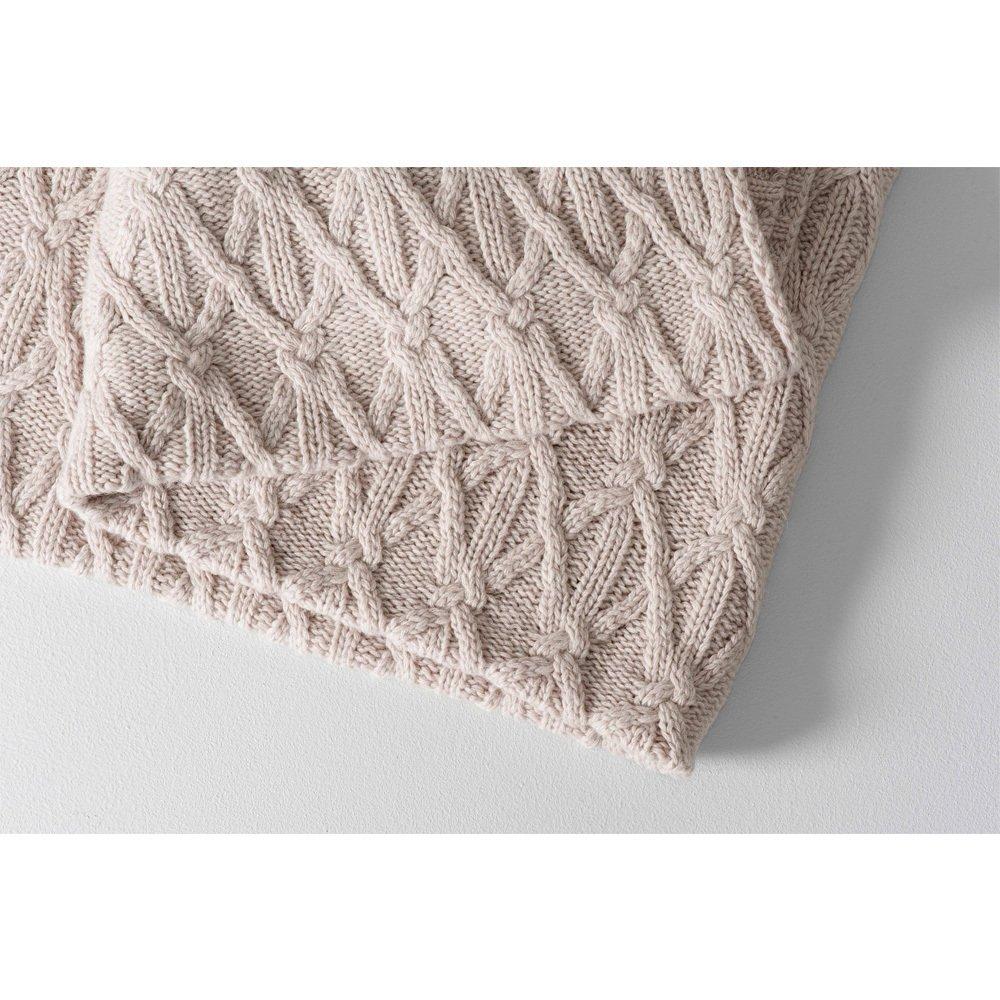 couverture en laine 70x100 cm naturel garbo friends design b b. Black Bedroom Furniture Sets. Home Design Ideas