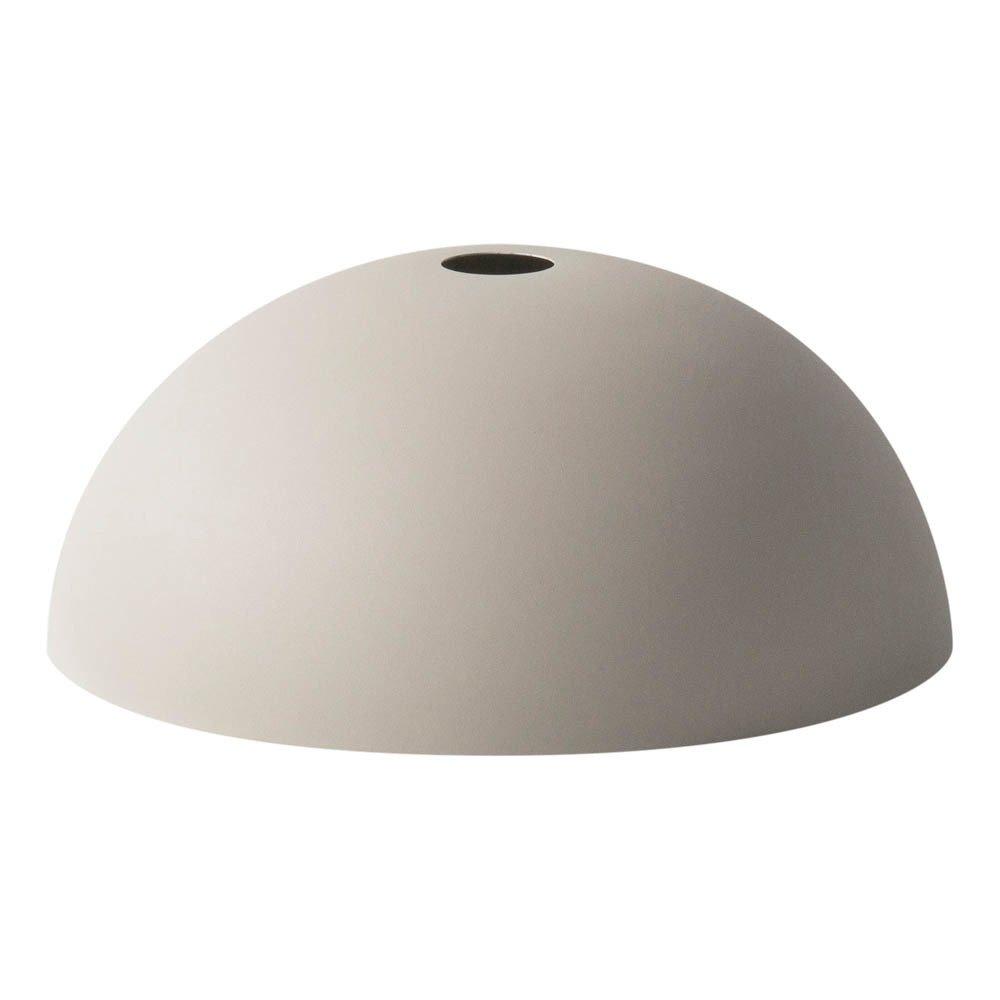 abat jour dome gris clair ferm living design adulte. Black Bedroom Furniture Sets. Home Design Ideas