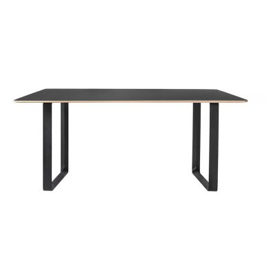 Table extensible h l ne gris ardoise hart design adulte for Table salle a manger 70 cm de large