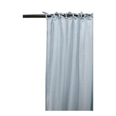 rideau lina 140x280 cm bleu gris la cerise sur le g teau. Black Bedroom Furniture Sets. Home Design Ideas
