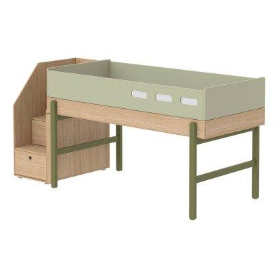 lits mezzanines enfant fille. Black Bedroom Furniture Sets. Home Design Ideas