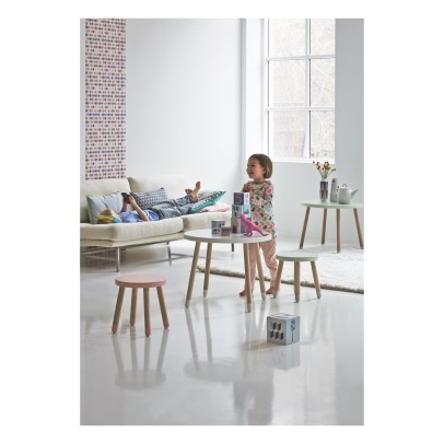 tabouret enfant blanc flexa play design enfant. Black Bedroom Furniture Sets. Home Design Ideas