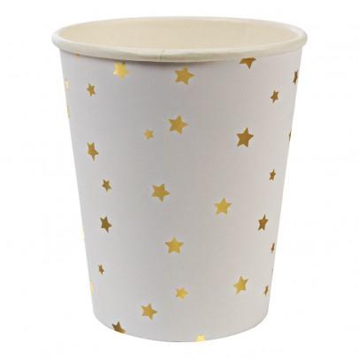 Gobelets en carton étoiles - Lot de 8