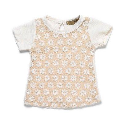 T-Shirt Cotone Giapponese Ricamo Terri