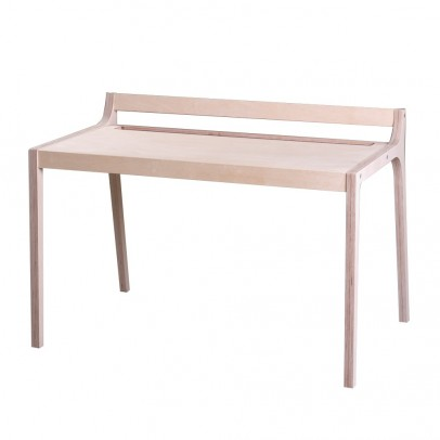 Sirch Afra Wooden Desk with Grey Felt-listing