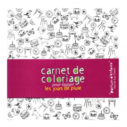 Mon Petit Art Smells of Childhood colouring set-listing