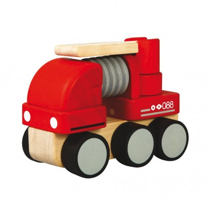 Plan Toys Mini fire truck-listing