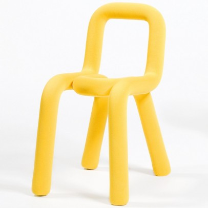 Moustache Big game chair - yellow-listing