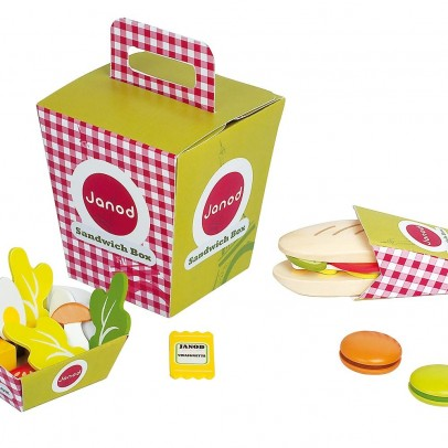 Janod Sandwich box-product