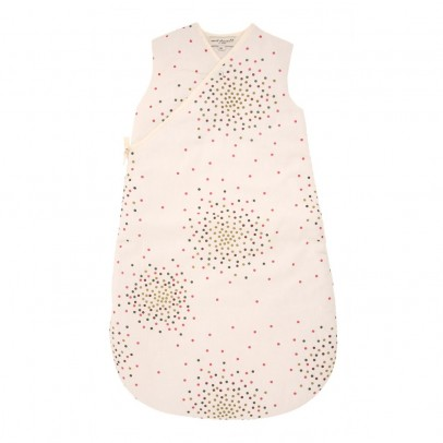 Polder Girl Ecru Baby Sleeping Bag - Multi-Coloured Dots-listing